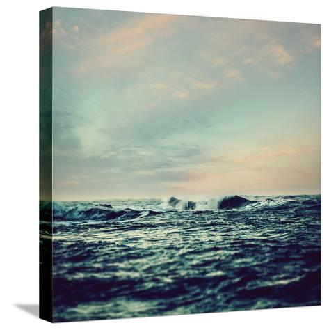 Sea Surf- Icollection-Stretched Canvas Print