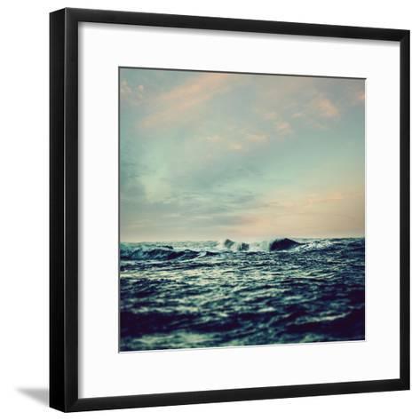 Sea Surf- Icollection-Framed Art Print