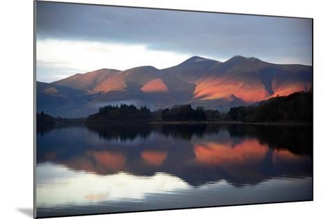Winter Sunset-Howard Walker-Mounted Photographic Print