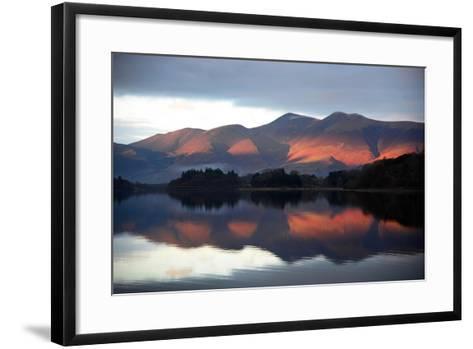 Winter Sunset-Howard Walker-Framed Art Print