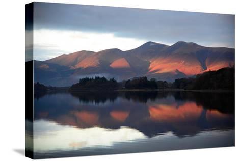 Winter Sunset-Howard Walker-Stretched Canvas Print