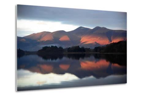 Winter Sunset-Howard Walker-Metal Print