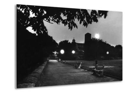 Fort Tyron Park One of the Biggest Drop Pointsfor Spy Rudolf Invanovich Abel, New York, NY, 1957-Walter Sanders-Metal Print