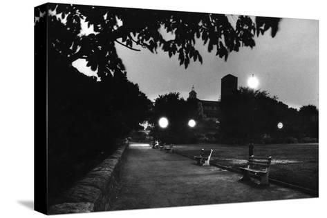 Fort Tyron Park One of the Biggest Drop Pointsfor Spy Rudolf Invanovich Abel, New York, NY, 1957-Walter Sanders-Stretched Canvas Print