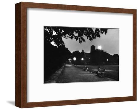 Fort Tyron Park One of the Biggest Drop Pointsfor Spy Rudolf Invanovich Abel, New York, NY, 1957-Walter Sanders-Framed Art Print
