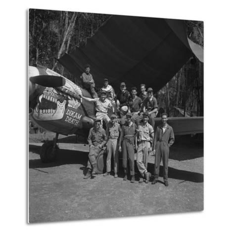 An 88th Flight Squadron Crew on the Ledo Road, Burma, 1944-Bernard Hoffman-Metal Print