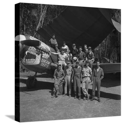 An 88th Flight Squadron Crew on the Ledo Road, Burma, 1944-Bernard Hoffman-Stretched Canvas Print