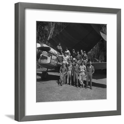 An 88th Flight Squadron Crew on the Ledo Road, Burma, 1944-Bernard Hoffman-Framed Art Print