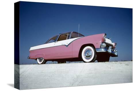 Low-Angle View of a 1954 Ford Fairlane Automobile-Yale Joel-Stretched Canvas Print