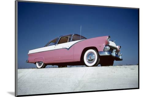 Low-Angle View of a 1954 Ford Fairlane Automobile-Yale Joel-Mounted Photographic Print