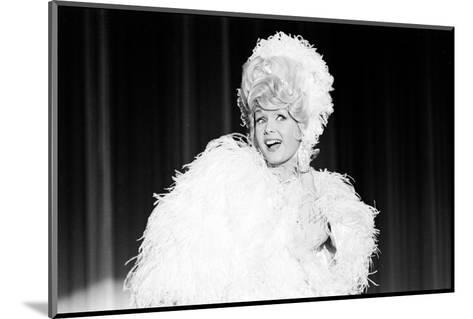 Debbie Reynolds Acting as Zsa Zsa Gabor, 1965-John Dominis-Mounted Photographic Print