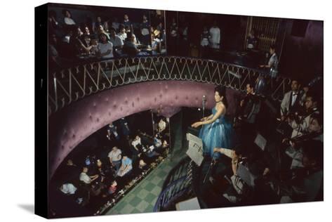Band in Nightclub, Tokyo, Japan, 1962-Eliot Elisofon-Stretched Canvas Print