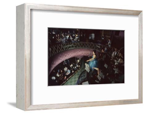 Band in Nightclub, Tokyo, Japan, 1962-Eliot Elisofon-Framed Art Print