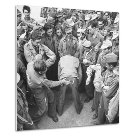 1945: Continental Central Pow Enclosure 15, Attichy, France-Ralph Morse-Metal Print