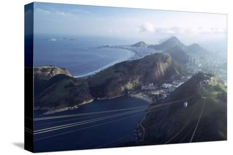 The Sugar Loaf Cable Car (Bondinho Do Pao De Acucar), Rio De Janeiro, Brazil-Alfred Eisenstaedt-Stretched Canvas Print