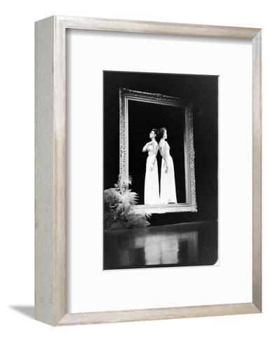 Women Modeling Evening Gowns at the Met Fashion Ball, New York, New York, November 1960-Walter Sanders-Framed Art Print