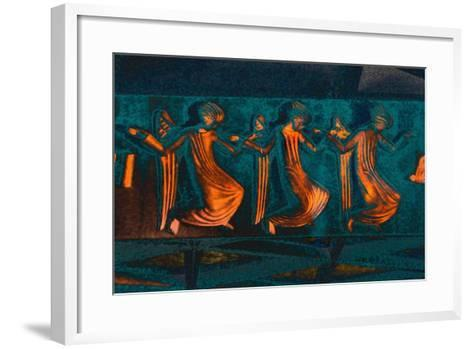 Attending the Annunciation, from the Series Annunciation, 2016-Joy Lions-Framed Art Print