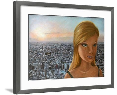 Barbie in Twilight, 2012-Emiko Aida-Framed Art Print