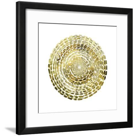 Gold Motif I-Edward Selkirk-Framed Art Print