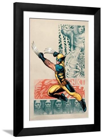 Savage Wolverine No. 1: Wolverine, Shanna the She-Devil--Framed Art Print