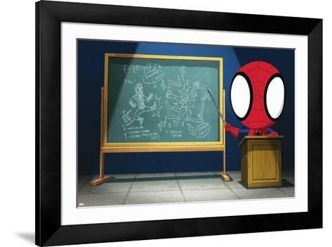 Ultimate SpiderMan - Animation 2014 Stills--Framed Art Print