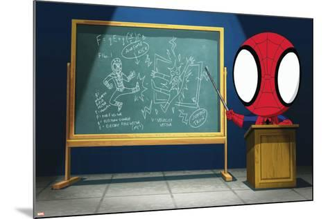 Ultimate SpiderMan - Animation 2014 Stills--Mounted Art Print