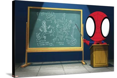 Ultimate SpiderMan - Animation 2014 Stills--Stretched Canvas Print