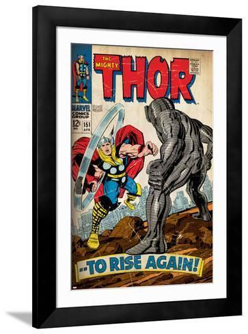 Marvel Comics Retro Style Guide: Thor--Framed Art Print