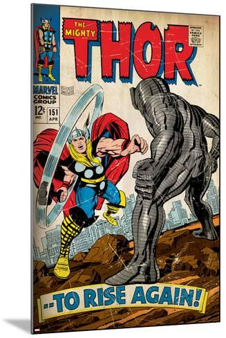 Marvel Comics Retro Style Guide: Thor--Mounted Art Print