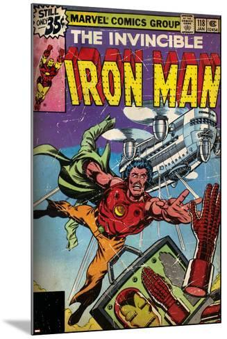 Marvel Comics Retro Style Guide: Iron Man--Mounted Art Print