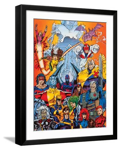 X-Men Forever Alpha No. 1: Cyclops, Storm, Grey, Jean, Summers, Rachel, Havok, Polaris, Cable--Framed Art Print