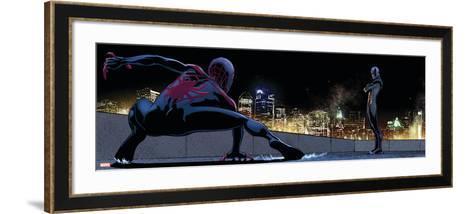 Ultimate Spider-Man Style Guide: Ultimate Spider-Man Morales, Prowler--Framed Art Print