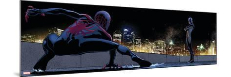 Ultimate Spider-Man Style Guide: Ultimate Spider-Man Morales, Prowler--Mounted Art Print