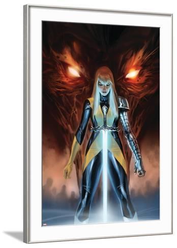 X-Men: Hellbound No. 1: Magik--Framed Art Print