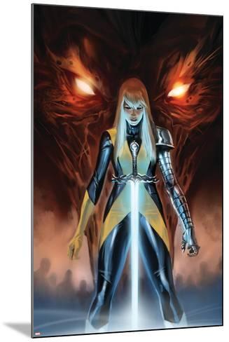 X-Men: Hellbound No. 1: Magik--Mounted Art Print