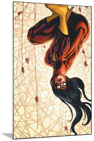 The New Avengers No.15 Cover: Spider Woman-Frank Cho-Mounted Art Print