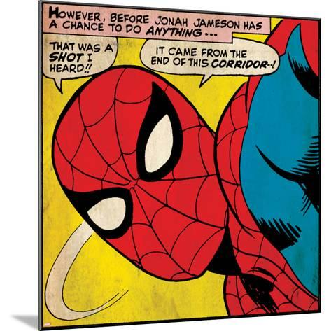 Marvel Comics Retro Style Guide: Spider-Man--Mounted Art Print