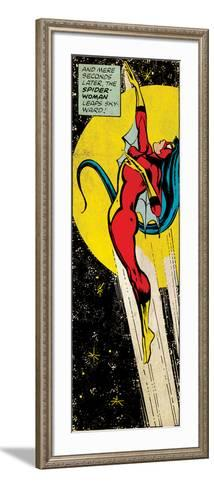 Marvel Comics Retro Style Guide: Spider Woman--Framed Art Print