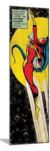Marvel Comics Retro Style Guide: Spider Woman--Mounted Art Print