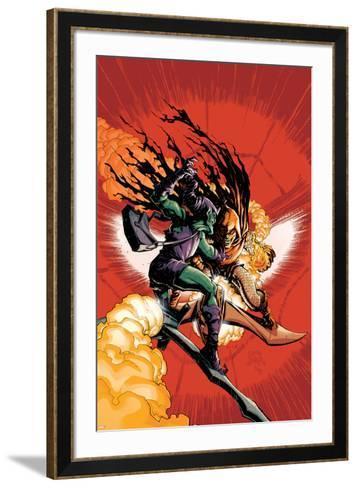 Superior Spider-Man No. 26: Green Goblin, Hobgoblin--Framed Art Print