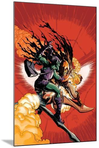 Superior Spider-Man No. 26: Green Goblin, Hobgoblin--Mounted Art Print