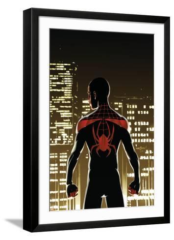 Miles Morales: Ultimate Spider-Man No. 1: Spider-Man--Framed Art Print