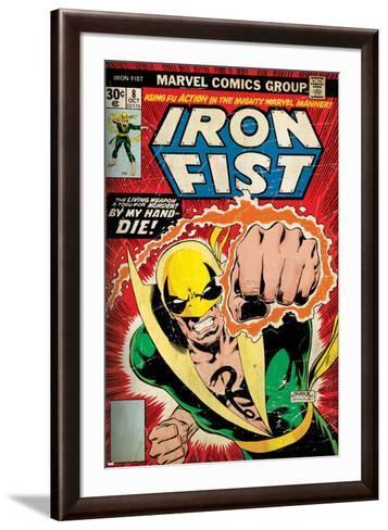 Marvel Comics Retro Style Guide: Iron Fist--Framed Art Print