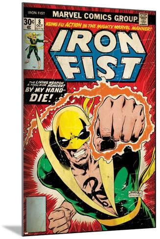Marvel Comics Retro Style Guide: Iron Fist--Mounted Art Print