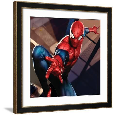 Ultimate SpiderMan - Gallery Edition Situational Art--Framed Art Print