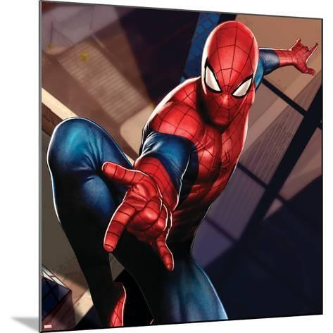 Ultimate SpiderMan - Gallery Edition Situational Art--Mounted Art Print