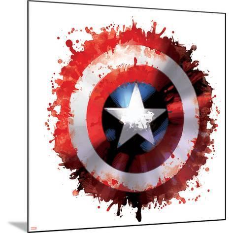 Avengers Assemble - Gallery Edition Design Elements--Mounted Art Print