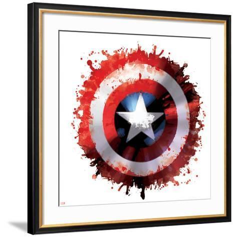 Avengers Assemble - Gallery Edition Design Elements--Framed Art Print