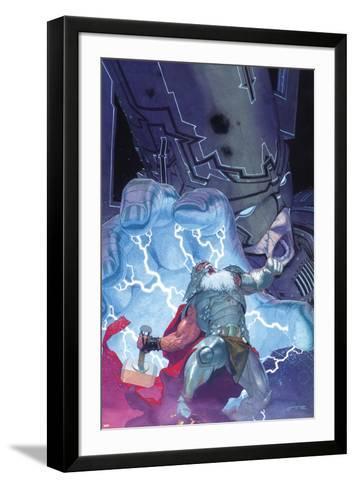 Thor: God of Thunder No. 20: Thor, Galactus--Framed Art Print