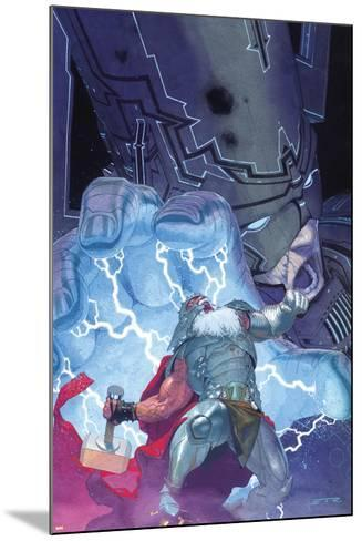 Thor: God of Thunder No. 20: Thor, Galactus--Mounted Art Print